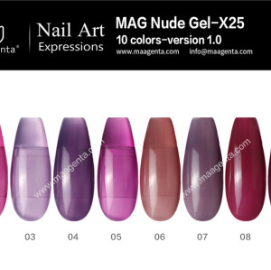 COLOUR GEL MAG Solid Color Gel Collection-X25
