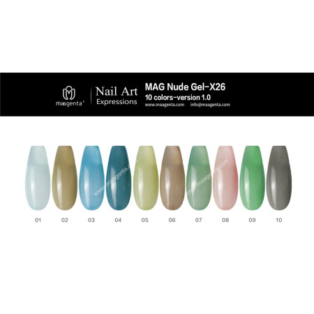 COLOUR GEL MAG Solid Color Gel Collection-X26