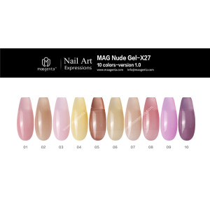 COLOUR GEL MAG Solid Color Gel Collection-X27