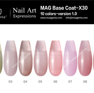 COLOR BASE COAT a collection of practical nude color