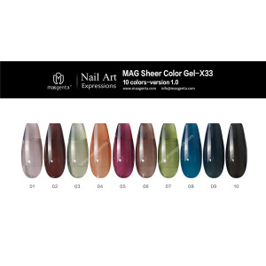 COLOUR GEL MAG Solid Color Gel Collection-X33