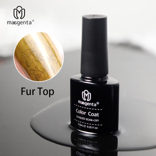 FUR EFFECT TOP COAT creative no wipe fur top