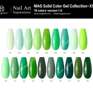 COLOUR GEL MAG Solid Color Gel Collection-X50