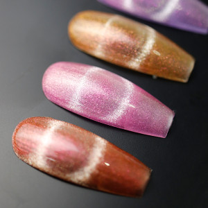 Aurora Crystal Cat eyes gel  nail polish for professional nail art and amateur home DIY