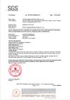 Протокол испытаний цветного покрытия SGS