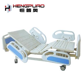 patient nursing two cranks adjustable manual hospital bed fro sale