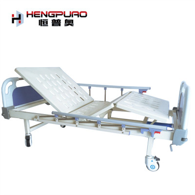 online manual two cranks elderly care cheap new hospital bed for sale
