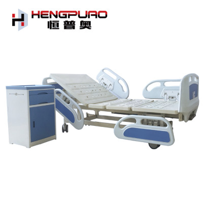 wholesale manual two cranks full size medical bed with cheap price