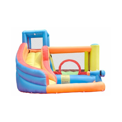 DD62030 Cheap Wholesale Price Small Kids Combo Inflatable Castle with Water Slide for Sale