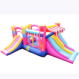 DD62118  OEM Accept Best Price Fabric Material Bouncy Castle Paint Factory in China