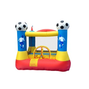 DD62062 Hot Sale Inflatable Fabric Custom Logo Inflatable Soccer Bouncer Factory from China