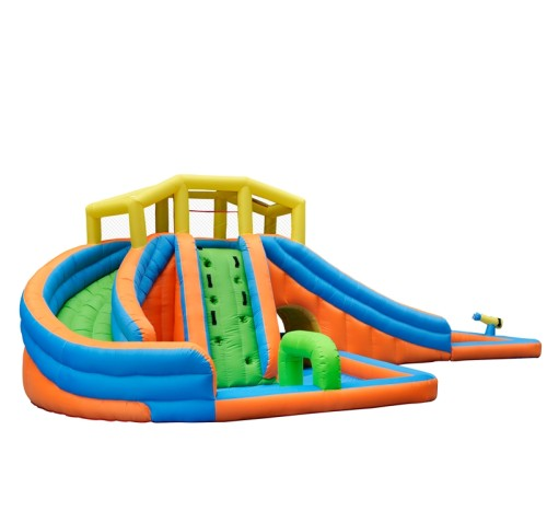 DD63014 Oxford Fabric Custom Design Inflatable Slip Water Slide Supplier in China