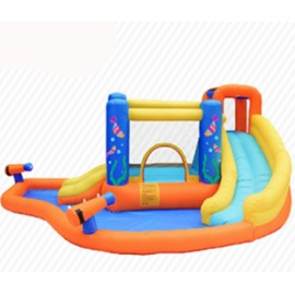 DD63107 Hot Popular PVC Material Top Quality Custom Guangzhou Inflatable Water Slide  China