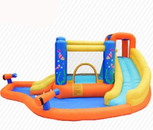 DD63107 Material de PVC popular caliente de calidad superior personalizado Guangzhou tobogán acuático inflable China