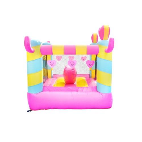 DD62096 OEM de alta calidad vendedor caliente acepta el castillo de la tela para los niños Fabricante en China