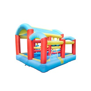 DD62059 Hot Popular  Prefabricated Inflatable Fabric Bounce Playground Manufacturer in China
