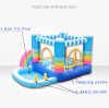 Bounce house experience from client