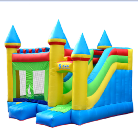 DD62027 Fashion Inflatable Fabric PVC Custom Comercial Inflatable Castle Supplier in China