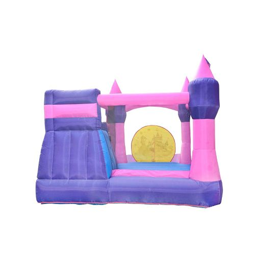 NT-62012 Inflatable Princess Bounce Slide House Jumper Water Slide Park Combo for Kids Outdoor Party