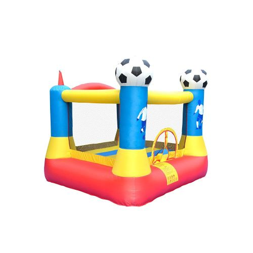 NT-62062 Bounce House Inflatable football Bouncy Castle House with Air Blower for Kids Party