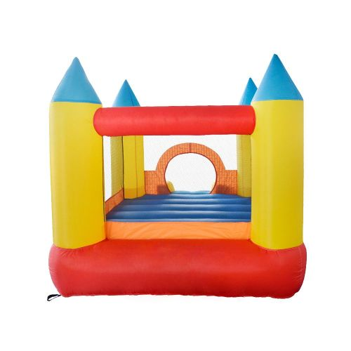 NT-62023 Inflatable small home used Bounce Castle House Kids Party Bouncy House with Air Blower
