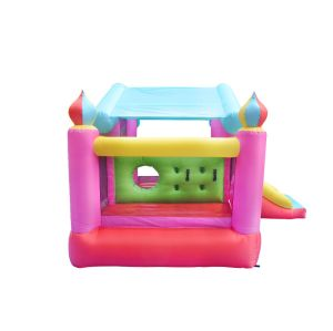NT-62055 Inflatable home use pink Bounce Castle House Kids Party Bouncy House with Air Blower