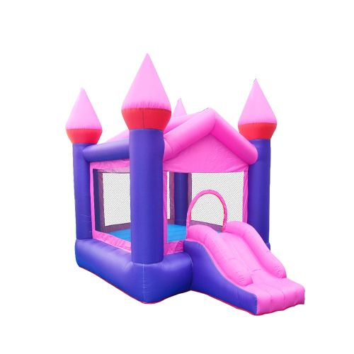 NT-62052 Inflatable pink Bounce Castle House Kids Party Bouncy House with Air Blower