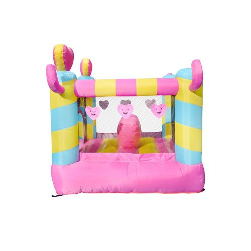 NT-62096 Inflatable Heart  Bounce Castle House Kids Party Bouncy House with Air Blower