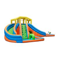 NT-63014  Inflatable water Slide House Jumper Water Slide Park Combo for Kids Outdoor Party