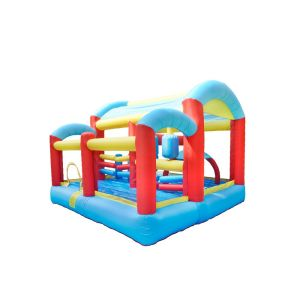 NT-62059  Inflatable Bounce House Bouncy Castle with Air Blower for Kids game Party