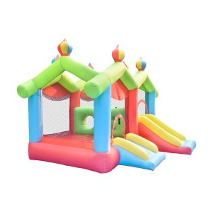 NT-62094  Inflatable Bounce House Bouncy Castle with Air Blower for Kids Party