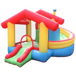 NT-62111  Inflatable Bounce House Bouncy Castle with Air Blower for Kids Party