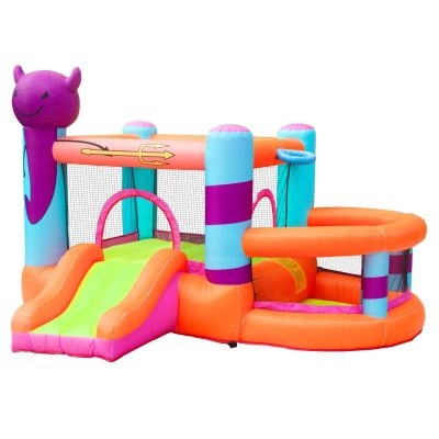 NT-62122  Inflatable Bounce House Bouncy Castle with Air Blower for Kids Party