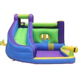 NT-63101 Inflatable Bounce Slide House Jumper Water Slide Park Combo for Kids Outdoor Party