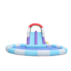 NT-63102 Inflatable Bounce Slide House Jumper Water Slide Park Combo for Kids Outdoor Party