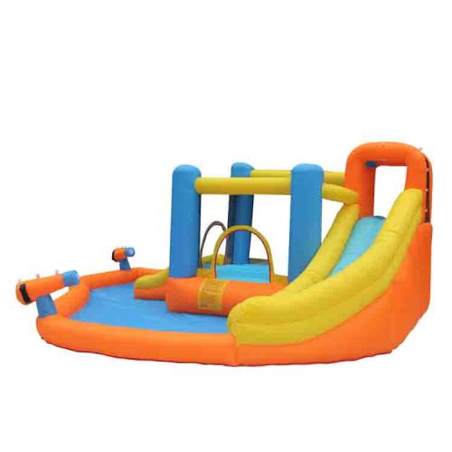 NT-63107 Inflatable Bounce Slide House Jumper Water Slide Park Combo for Kids Outdoor Party