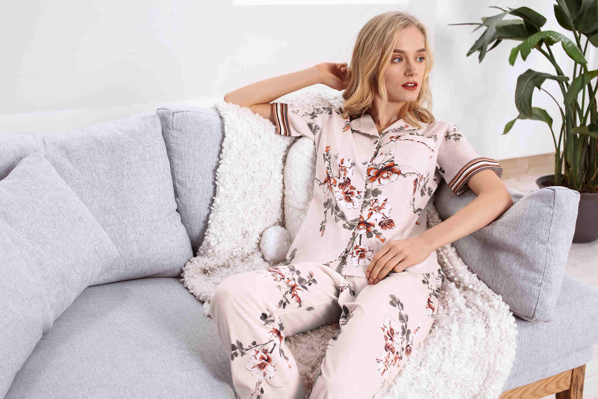 Spring love series pyjama for women