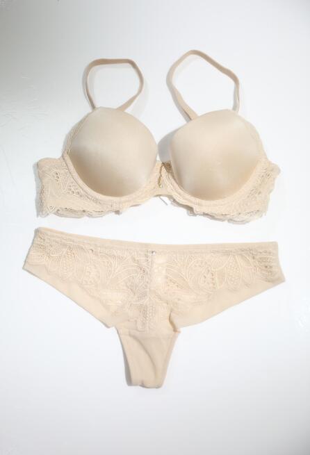 TJ Economic Fashion creamy-white lingerie