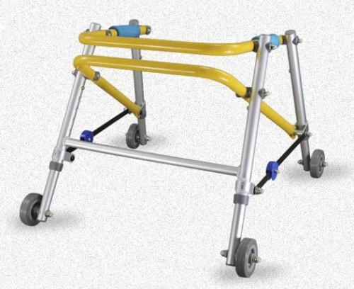 ارتفاع قابل للتعديل للطي الألومنيوم بعجلات ووكر
