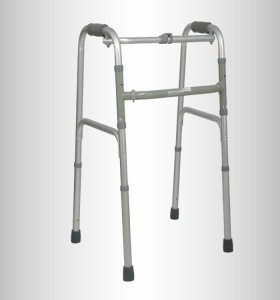Height Adjustable Folding Aluminum Walker