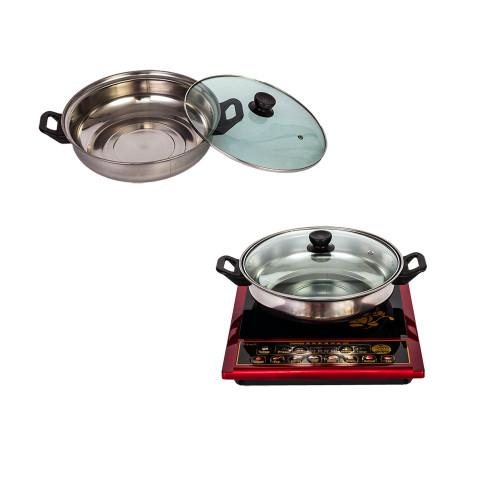 Table de cuisson à induction en braille