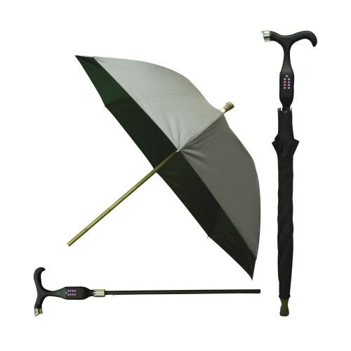 مظلة عصا المشي متعددة الوظائف
