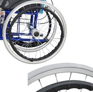 Silla de ruedas manual plegable ALK863LAJ-20