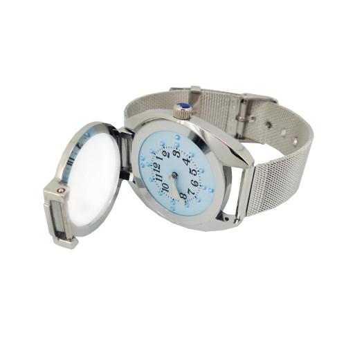 Reloj braille
