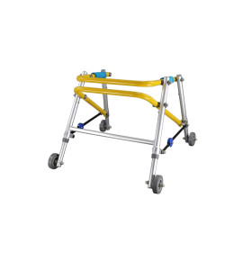 Height Adjustable Folding Aluminum Wheeled Walker
