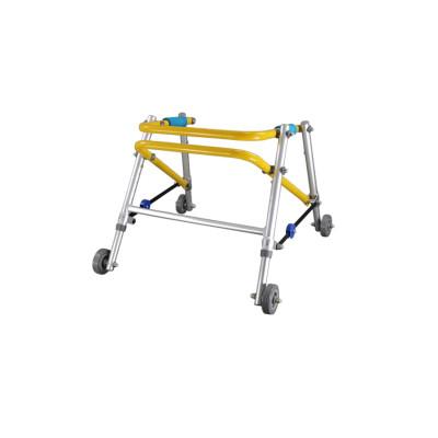 Height Adjustable Folding Aluminum Wheeled Walker
