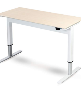 Pneumatic Adjustable Height Computer Desk