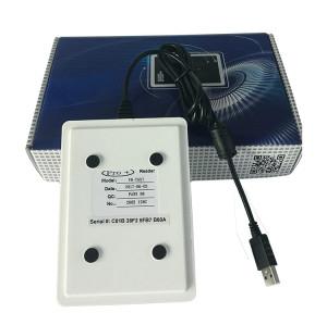 125KHz Temic RFID Key Card Encoder For Smart Hotel Door Lock