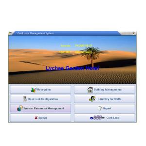 Hotel RFID Card Door Lock System Management For Encoder
