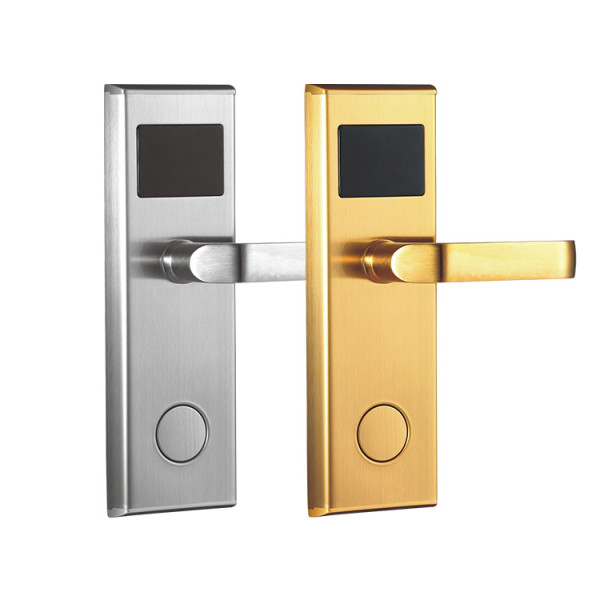 RFID Key Card Smart Hotel Room Door Lock With Management System Software